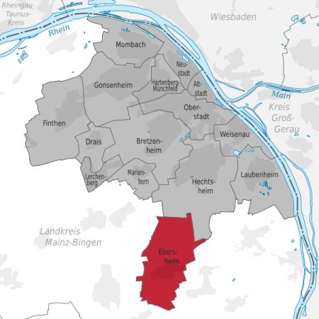 Mainzer Stadtteile